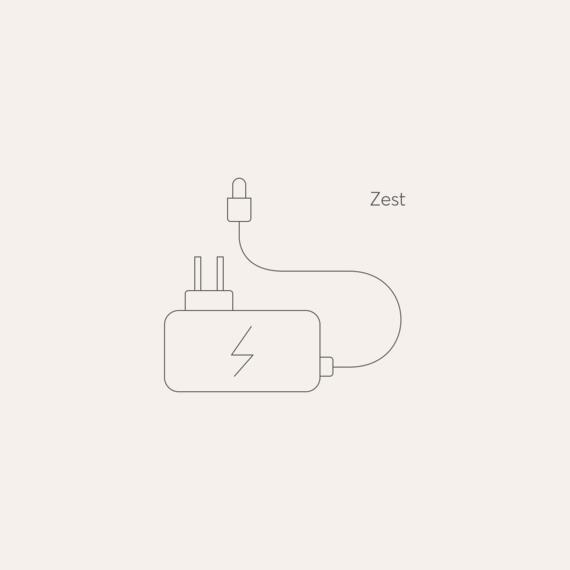 Zest mains power adaptor photo