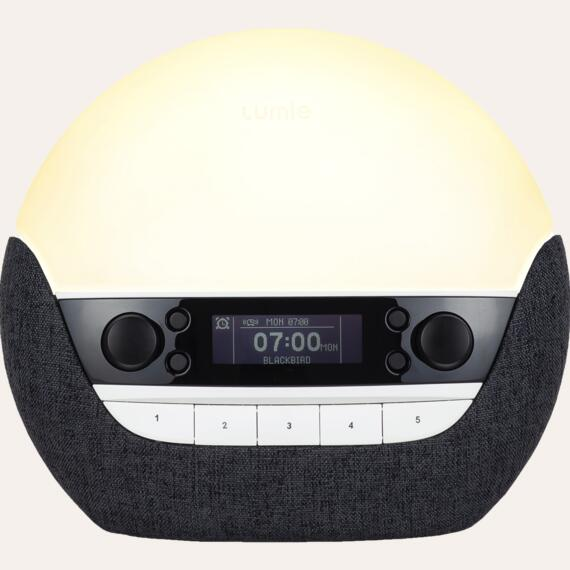 Bodyclock Luxe 750DAB — charcoal