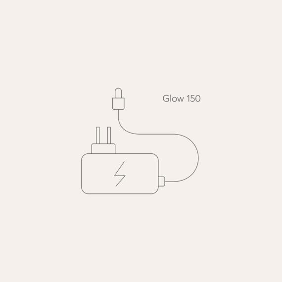 Bodyclock Glow 150 mains power adaptor photo
