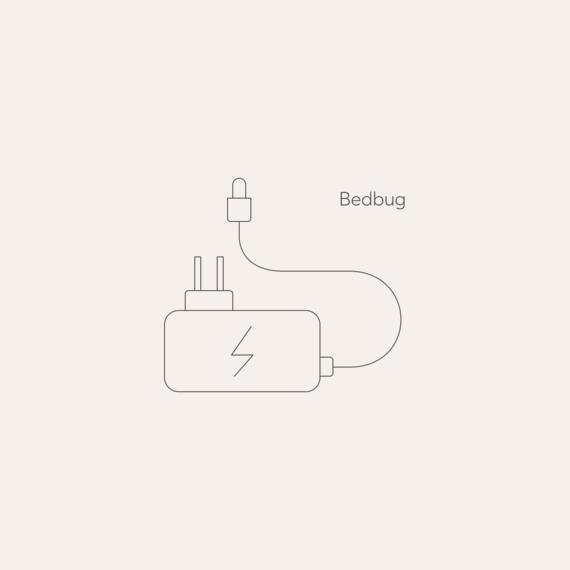 Bedbug mains power adaptor photo