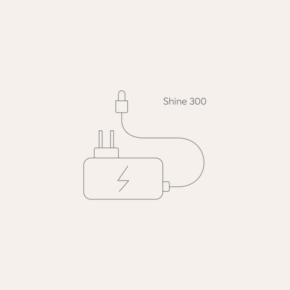 Bodyclock Shine 300 mains power adaptor photo